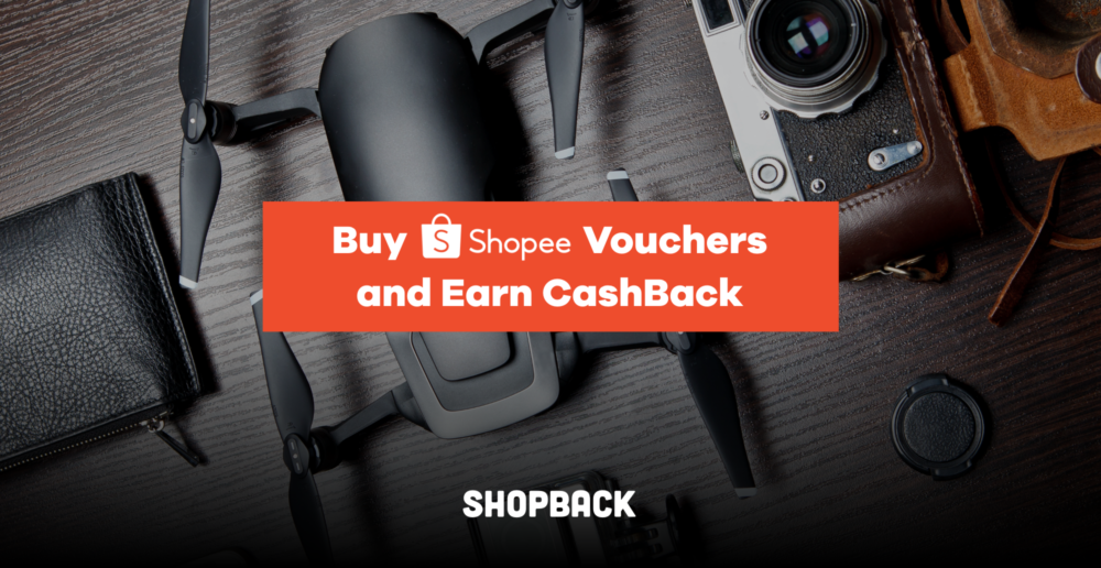 Buy Shopee Vouchers and Earn Cashback