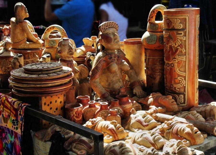 ตลาดนัดหัตถกรรม กัวเตมาลา