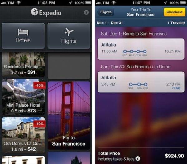 แอพท่องเที่ยวแรกสำหรับขาเที่ยวชอบ All in One: Expedia