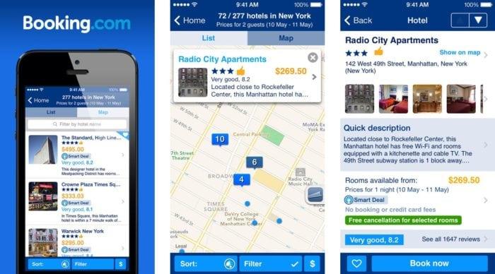 แอพท่องเที่ยวที่3 สำหรับขาเที่ยวไม่พกบัตรเครดิต: Booking.com