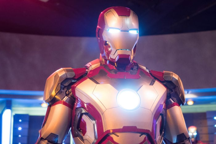 ดิสนีย์แลนด์ฮ่องกง Iron Man