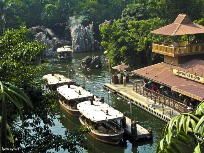 ดิสนีย์แลนด์ฮ่องกง Jungle River Cruise