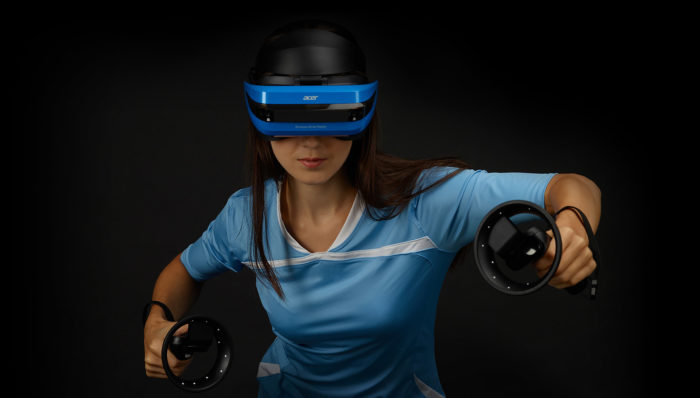 VR Headset รุ่นใหม่ Acer-Windows-Mixed-Reality-Headset