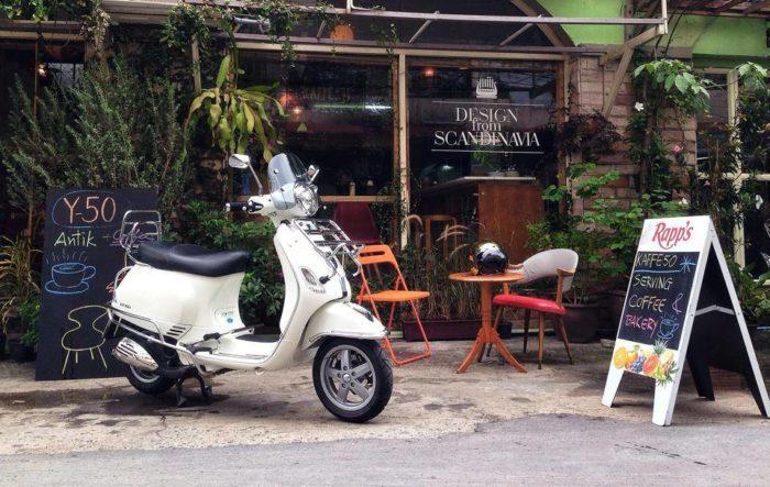 ร้านกาแฟ วินเทจ kaffebyY50