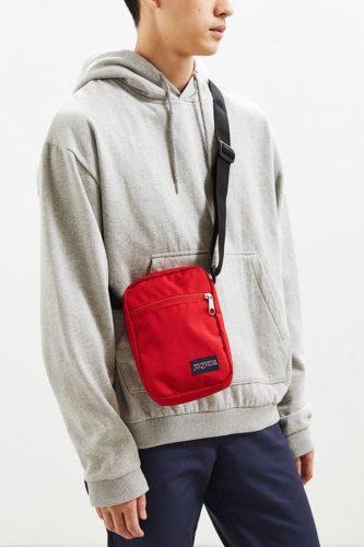 เทรนด์กระเป๋า 2018 JanSport Weekender Square Sling Bag