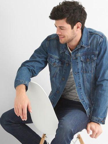 แจ็คเก็ตยีนส์ Icon denim jacket