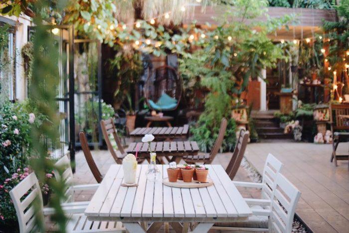 ร้านกาแฟน่ารักๆ Flowerpot cafe