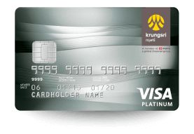 บัตรเครดิตเงินคืน Krungsri