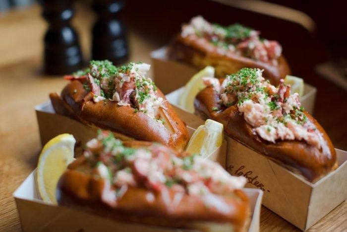 เที่ยวลอนดอน Burger & Lobster