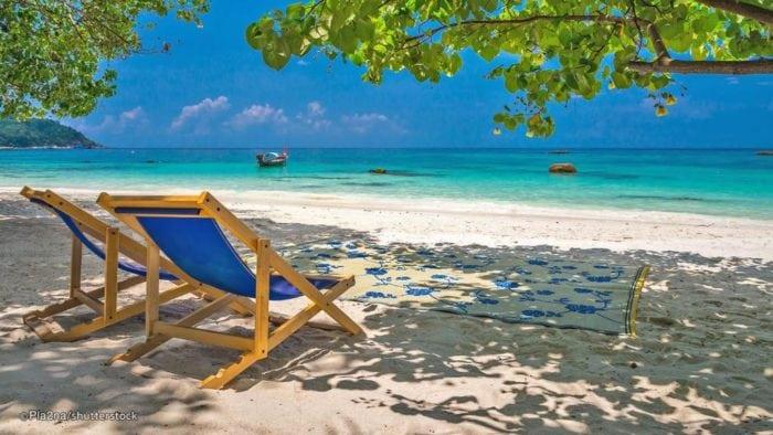 ทะเลที่สวยที่สุดในประเทศไทย เกาะหลีเป๊ะ