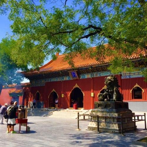 กำแพงเมืองจีน วัดลามะ