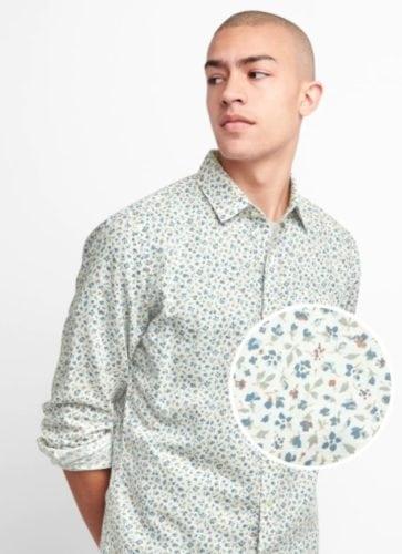 เสื้อเชิ้ตผู้ชาย Gap