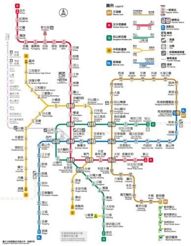 สถานที่ท่องเที่ยวไต้หวัน ไทเป การเดินทาง