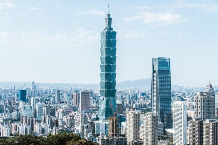 สถานที่ท่องเที่ยวไต้หวัน ไทเป ตึกไทเป 101