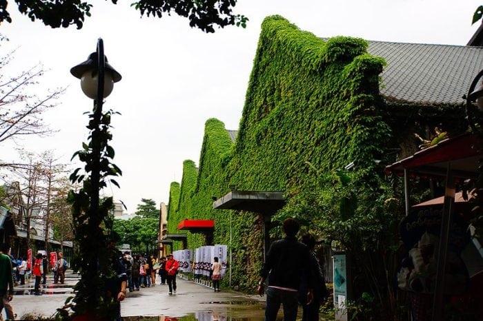 สถานที่ท่องเที่ยวไต้หวัน ไทเป Huashan 1914 Creative Park