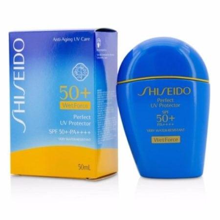 ดูแลผิวหน้าร้อน Shiseido