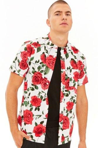 เสื้อลายดอกสงกรานต์ ลายดอกจัดจ้าน เสื้อลายดอก ชุดฮาวาย เสื้อสงกรานต์ เสื้อลายดอกสงกรานต์