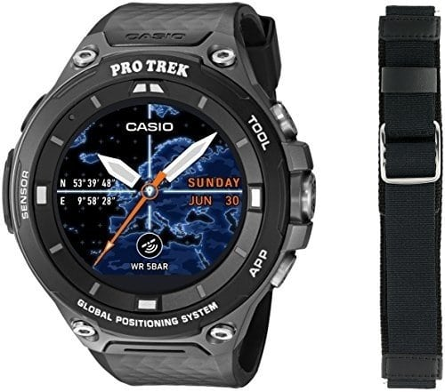 Travel Gadgets Casio WSD-F20 Outdoor Smartwatch
