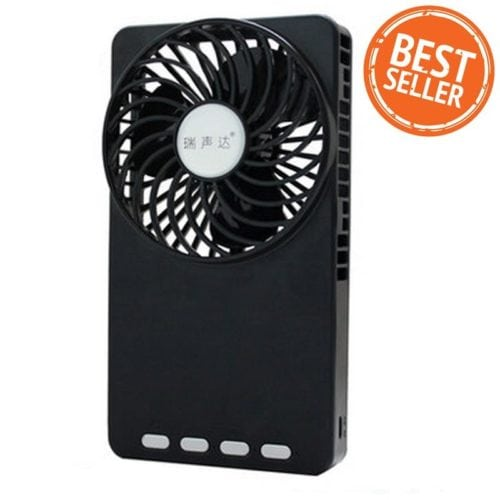 Travel Gadgets Shop108 USB Power bank Mini Fan เพาเวอร์แบงค์พัดลมมือถือ