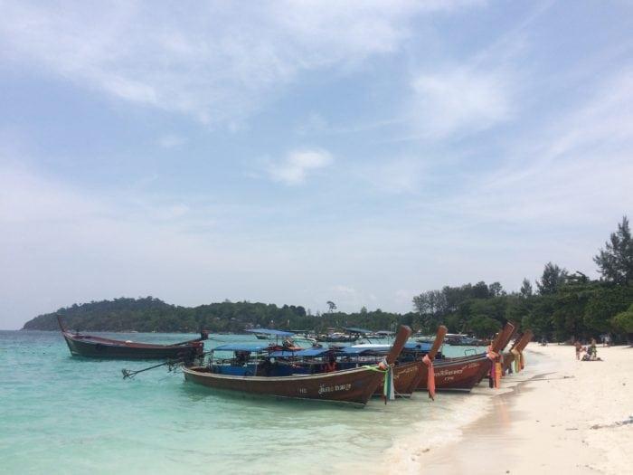 เที่ยวเกาะหลีเป๊ะ 2
