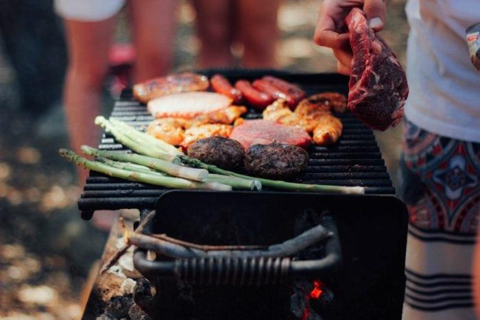 วิธีคลายร้อน ทำอาหารนอกบ้าน