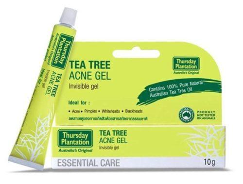 รักษารอยสิว ครีมลดสิว Tea Tree Acne Gel