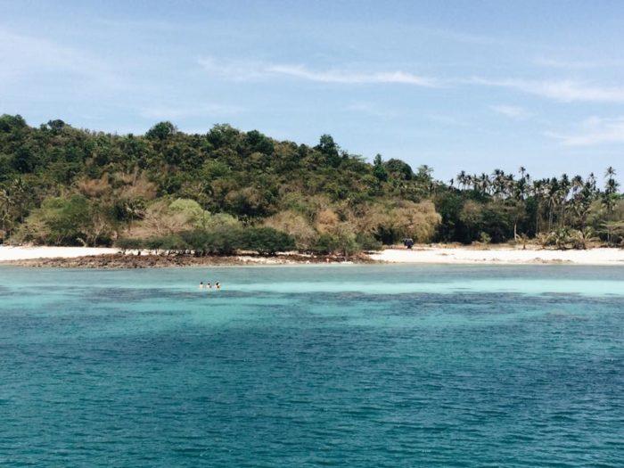 เกาะทะลุ ประจวบ หลบหอยเม่นที่เกาะทะลุ