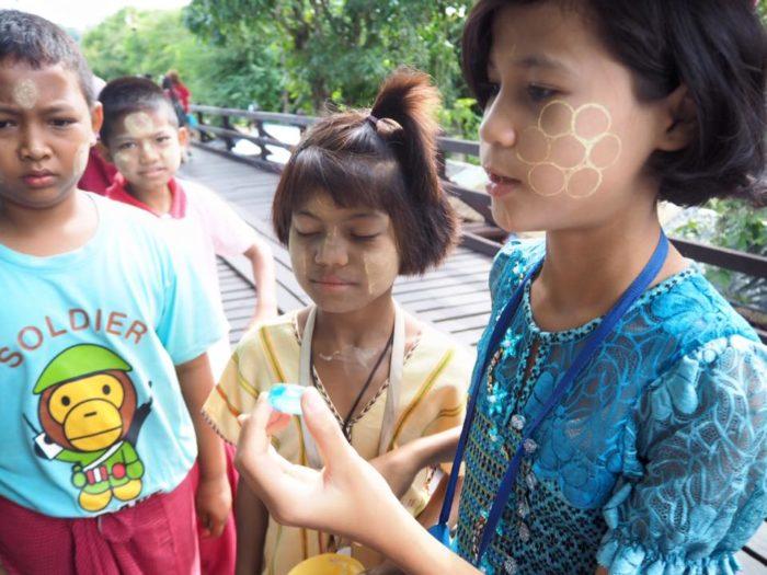 กาญจนบุรี สังขละบุรี เด็กๆพาเที่ยว