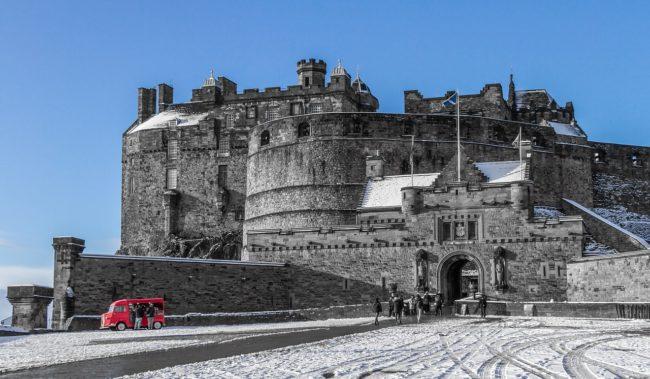 เจ้าชายแฮรี่ Edinburgh Castle