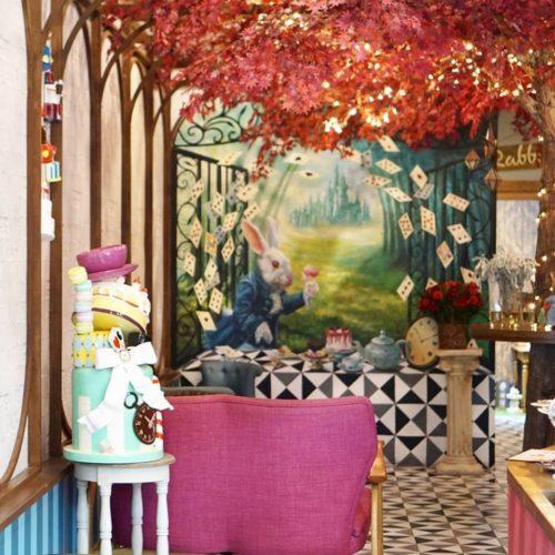 ร้านกาแฟเก๋ๆ Perhaps Rabbit Cafe