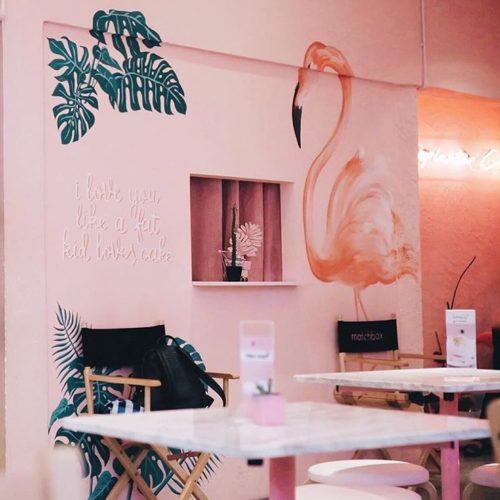 ร้านกาแฟเก๋ๆ Pinkplanter