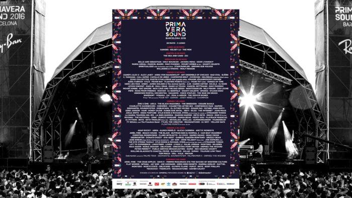 เทศกาลดนตรี 2018 Prima Vera Sound Festival 2018