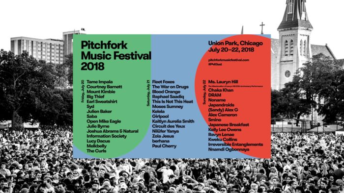 เทศกาลดนตรี 2018 Pitchfork Music Festival 2018