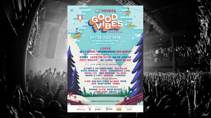 เทศกาลดนตรี 2018 Good Vibes Festival 2018