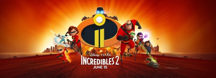 หนังเข้าใหม่ 2018 The Incredibles 2