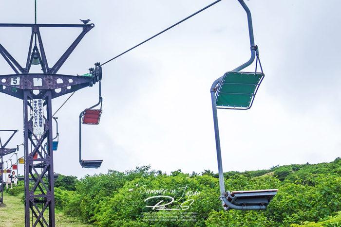 เที่ยวญี่ปุ่นหน้าร้อน Ski Lift