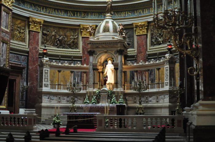 เที่ยวบูดาเปสต์ St. Stephen's Basilica 2