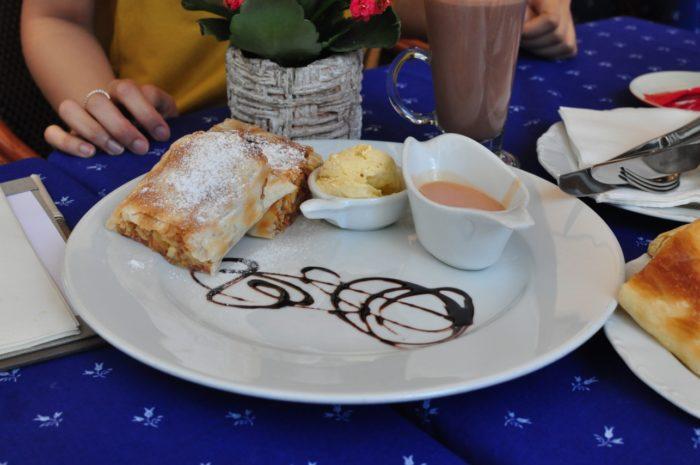 เที่ยวบูดาเปสต์ Strudel Breakfast