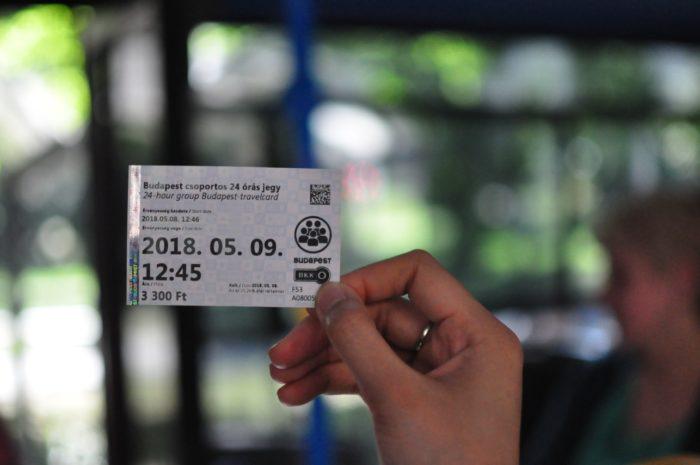 เที่ยวบูดาเปสต์ 24 hours group ticket