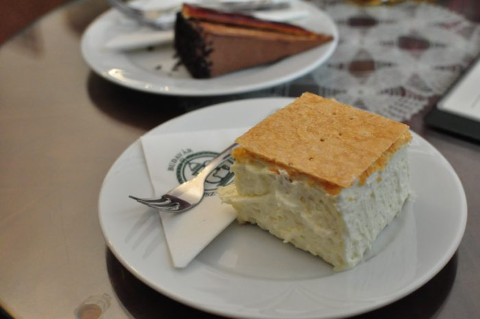 เที่ยวบูดาเปสต์ Ruszwurm Cream Pastry