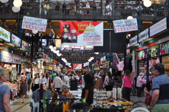 เที่ยวบูดาเปสต์ Central Market Hall 1