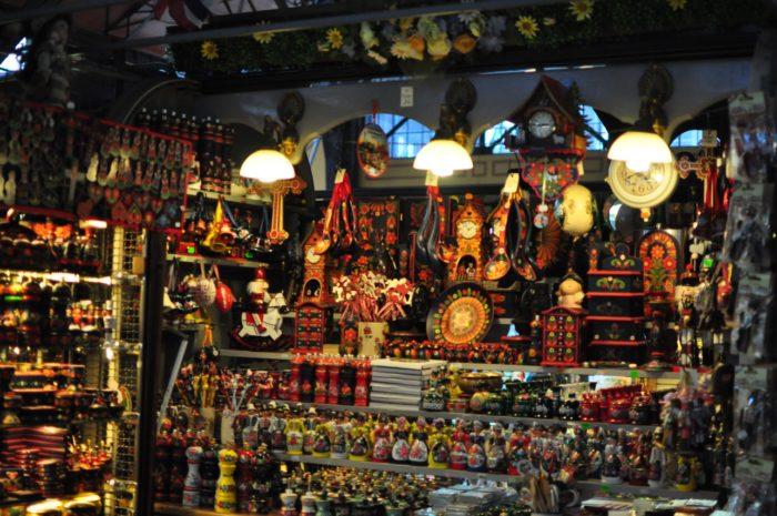 เที่ยวบูดาเปสต์ Central Market Hall 2
