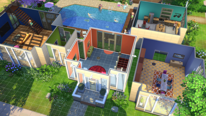 เกมจัดบ้าน เกม The Sims
