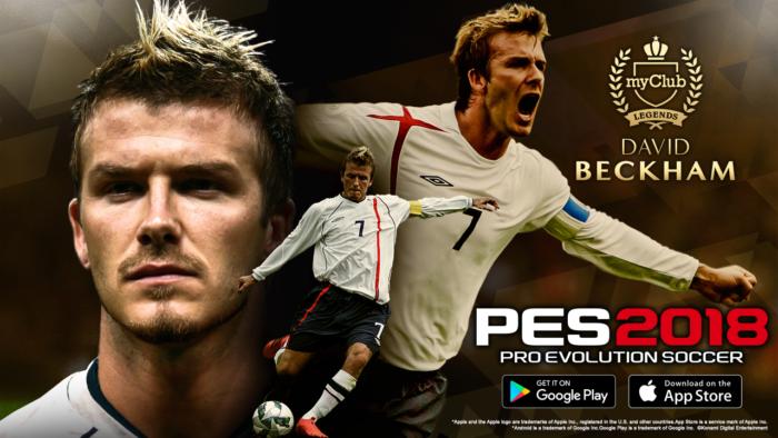 เกมฟุตบอลโลก PES 2018 Mobile
