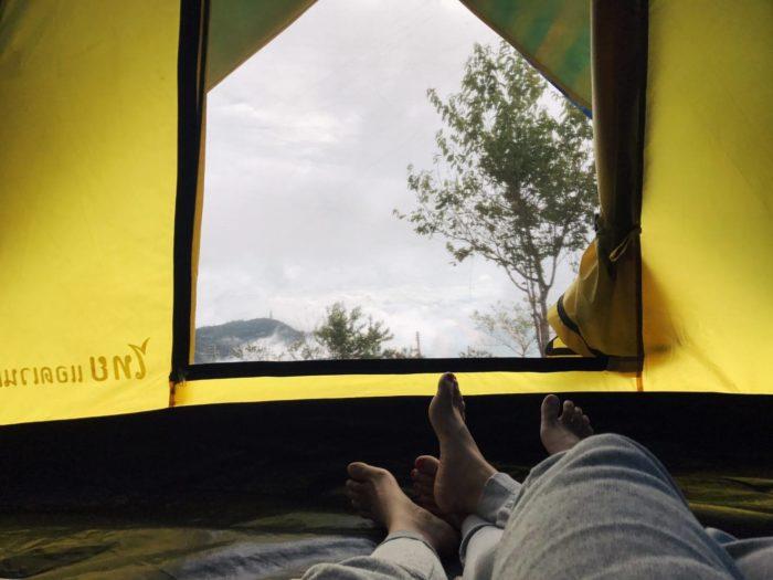 ภูทับเบิกหน้าฝน จุดกางเต็นท์วิสาหกิจชุมชน ภูทับเบิก ที่เที่ยวเพชรบูรณ์ เที่ยวเพชรบูรณ์ เที่ยวภูทับเบิก