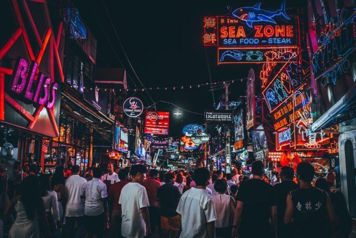 พัทยามาราธอน พัทยา วอล์คกิ้ง สตรีท (Pattaya Walking Street)
