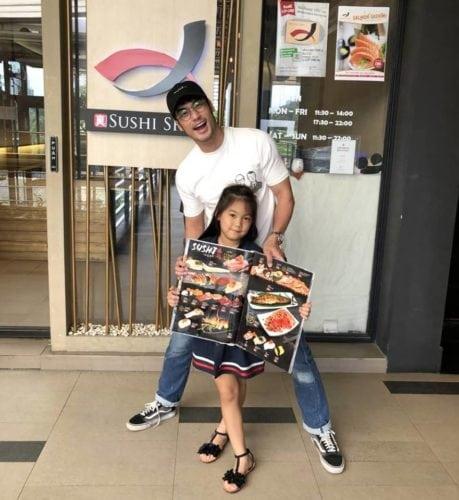ร้านอาหารดารา Sushi Shin : บอย ปกรณ์ & เจิน-ณิชชาพัณณ์