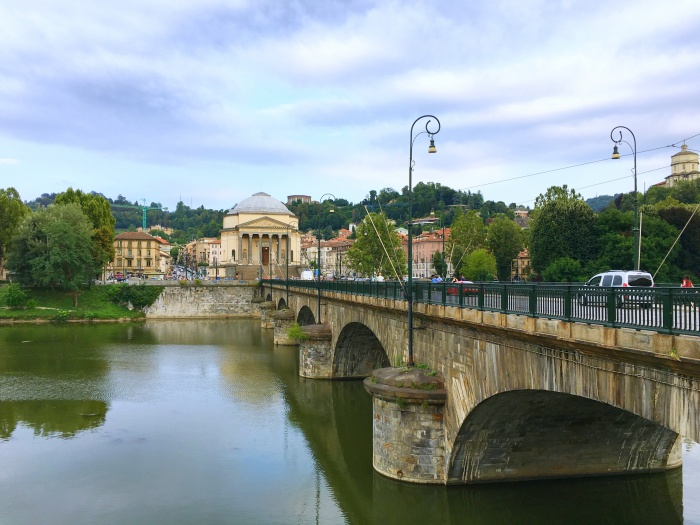 เที่ยวมิลาน Turin Piedmont Bridge