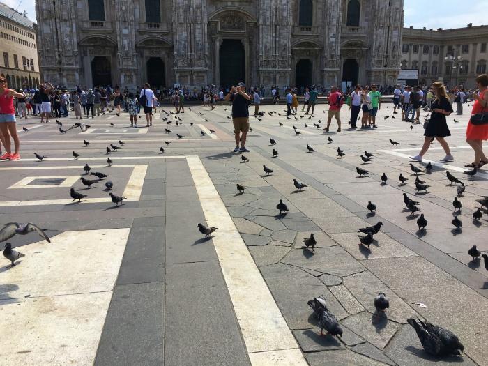 เที่ยวมิลาน Duomo di Milano 2
