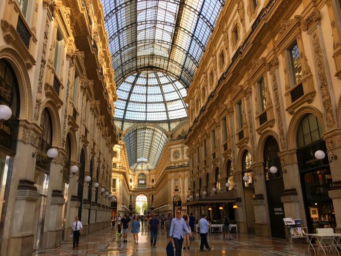 เที่ยวมิลาน Galleria Vittorio Emanuele II 2